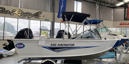 Clark Aluminium Boat for Sale - Navigator 440