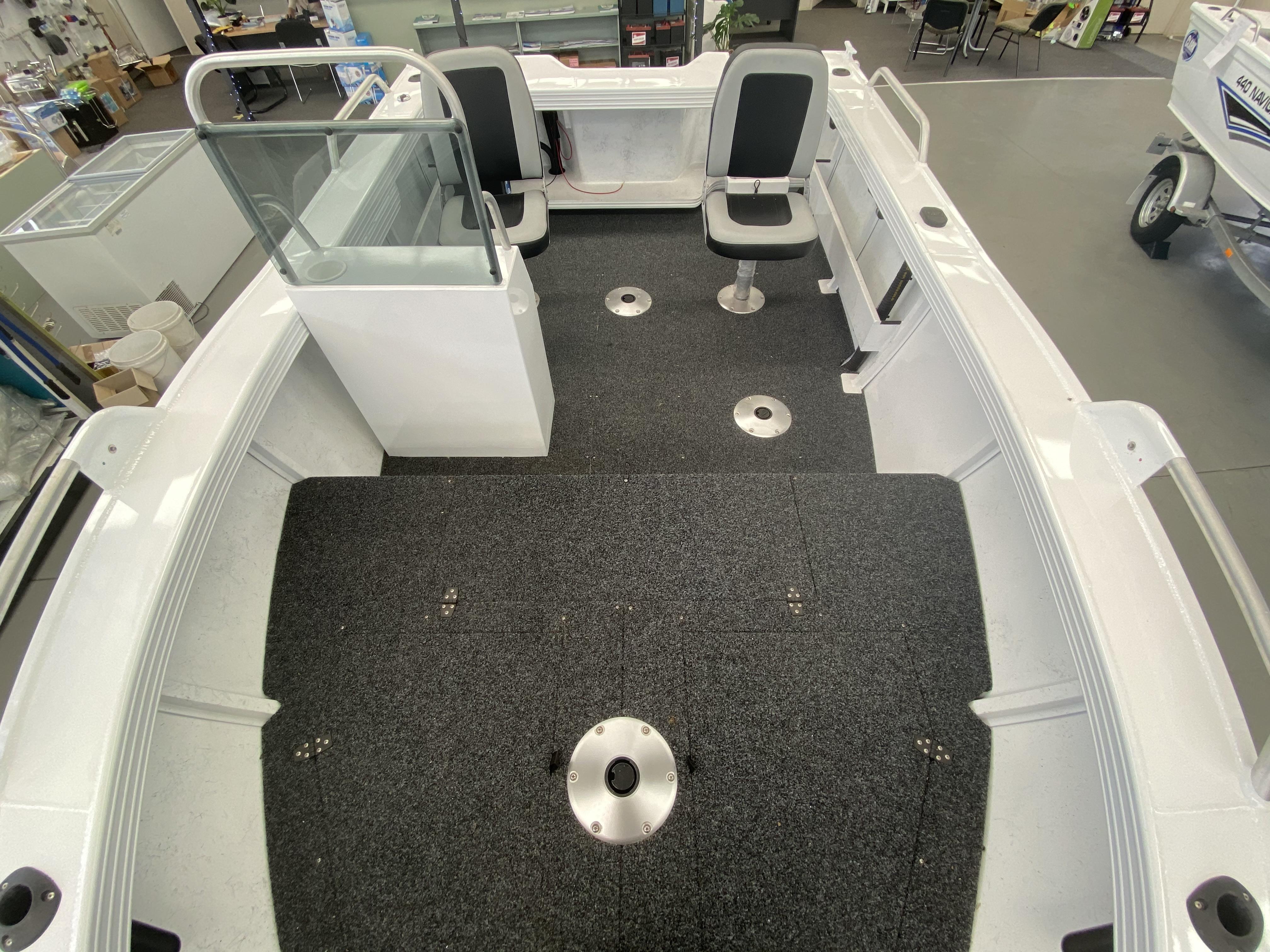 Clark Aluminium Boat Legend 520 full
