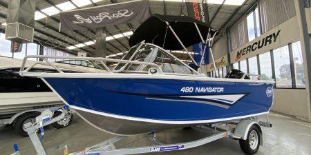 Clark Aluminium Boat for Sale - Navigator 480