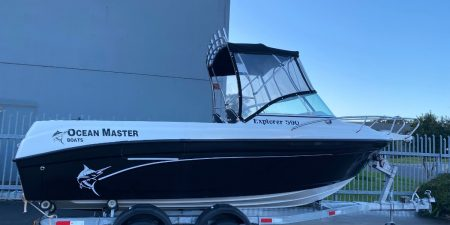 Ocean Master Explorer 590 Boat for Sale