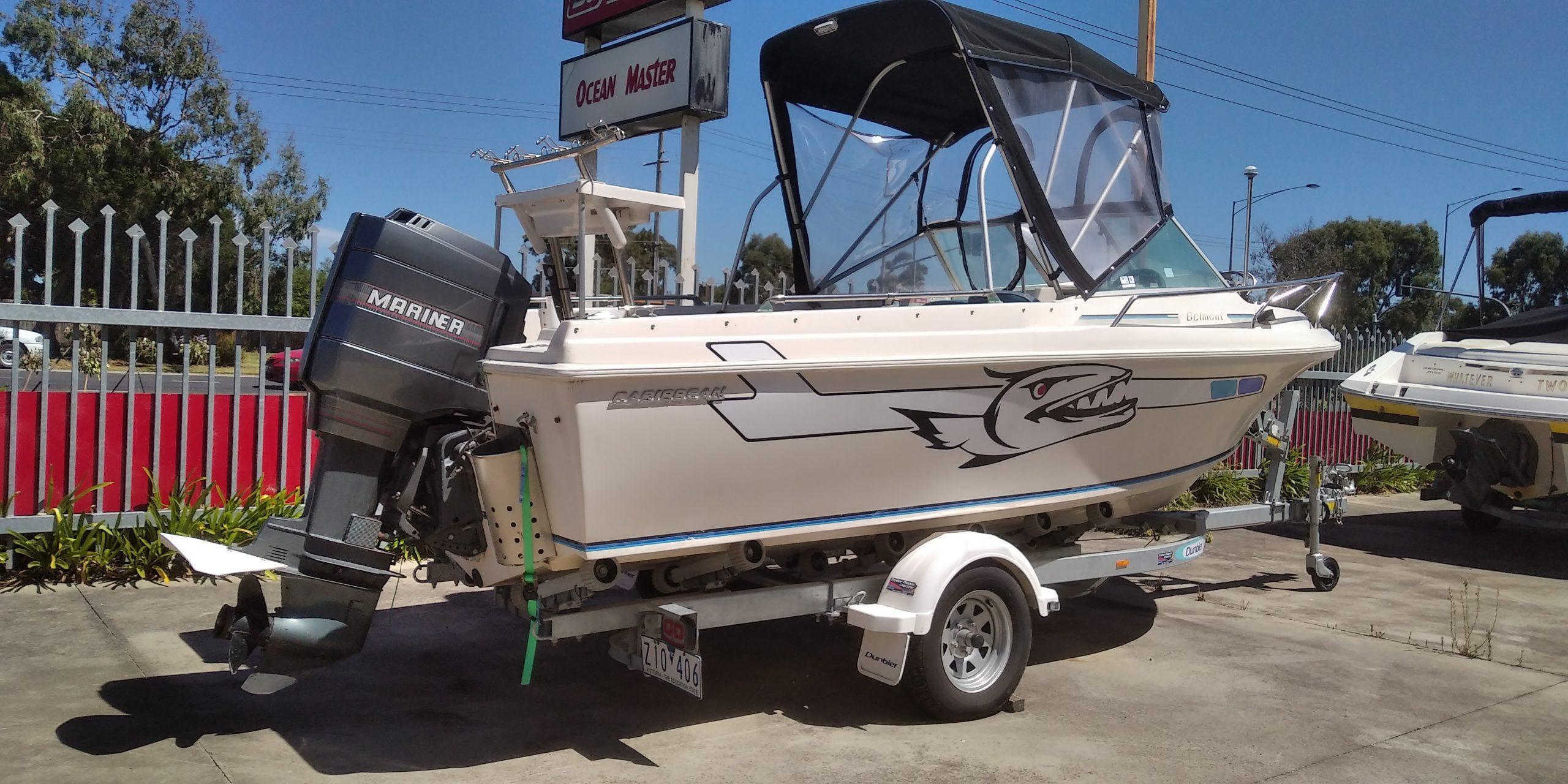 Caribbean Belmont Boat full