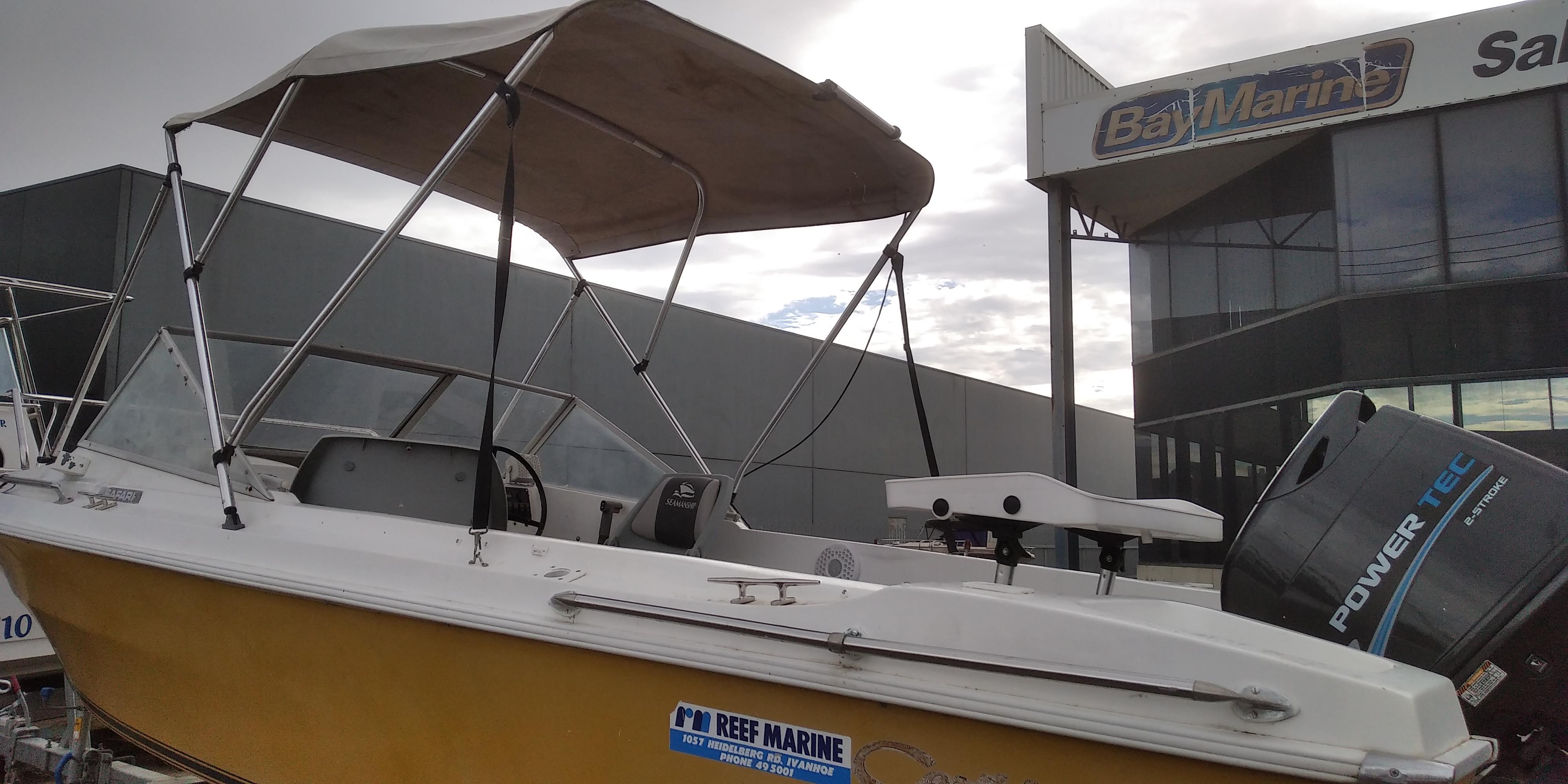 Caribbean Safari Boat full